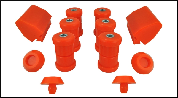 VW Caddy MK1 Rear Bush Kit in Polyurethane type 14 19801996